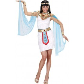 Ladies Egyptian Queen Egyptian Outfit - (White)