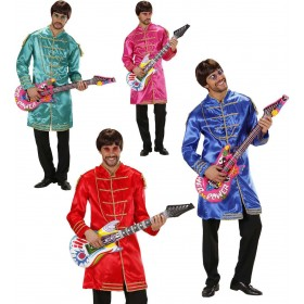 Mens Musicman- (Jacket) - Blue/Red/Pink/Green Music