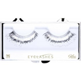 Metallic Silver Eyelashes (Glass Bottle Glue) Eyelashes - (Silver)