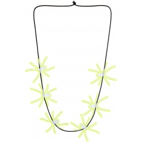 Glow In The Dark Spiders Necklaces 60Cm Jewellery