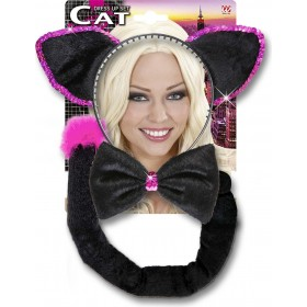 Black Cat Dress Up Sets Accessories