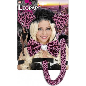 Pink Leopard Dress Up Sets Accessories