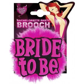 Bride To Be Brooches - Black Jewellery