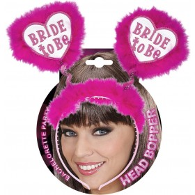Bride To Be Head Boppers - White Accessories