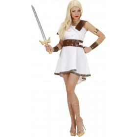 Ladies Olympia Warrior- (Dress Belt Cuffs) Greek Outfit - (White)