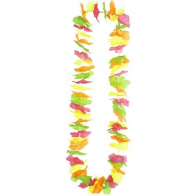 Neon Multicolor Hawaiian Leis Accessories