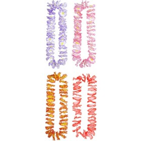 Luau Hawaiian Leis (Lilac/Pink/Red/Orange) Accessories