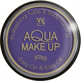 Aqua Makeup 15G - Purple Makeup - (Purple)