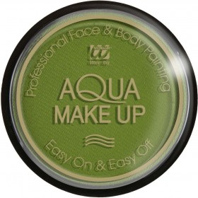 Aqua Makeup 15G - Emerald Green Makeup - (Green)