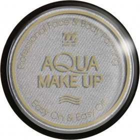 Aqua Makeup 15G - Metallic Silver Makeup - (Silver)
