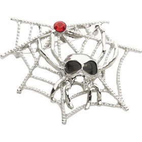 Spiderweb & Spider Brooches Jewellery