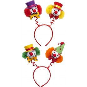Clown Head Boppers (Green/Orange & Red/Yellow) Accessories