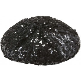 Sequin Basco Hat - Black Hats - (Black)