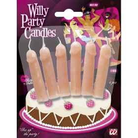 Willy Party Candles - Set Of 6 Other