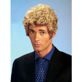 Brad Wig Blonde - Fancy Dress