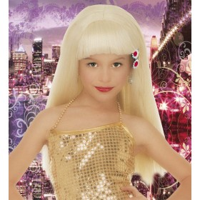 Naomi Glamour Wig Child - Fancy Dress Girls