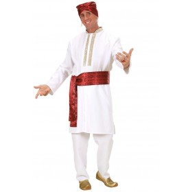 Bollywood Star Fancy Dress Costume Mens (Cultures)
