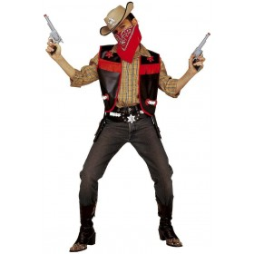Buffalo Bill Vest Child Fancy Dress Costume Boys