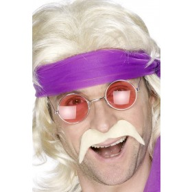 Seventies Blonde Tash - Fancy Dress Mens (1970S)