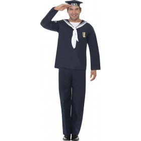 Mens Naval Seaman Sailor Outfit (Blue)