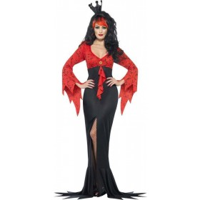 Ladies Evil Queen Costume Halloween Outfit