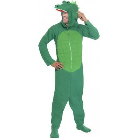 Mens Crocodile Costume Animal Outfit