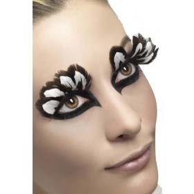 Eyelashes, Feather Eyelashes - (Brown)