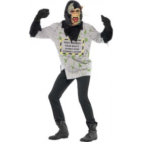 Mens Mutant Monkey Costume Halloween Outfit