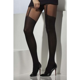 Opaque Tights Tights - (Black)