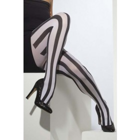 Opaque Tights Tights - (Black, White)