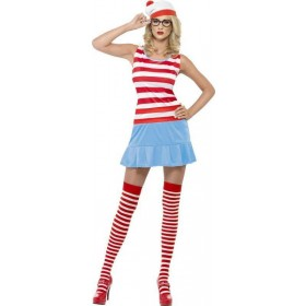 Ladies Where'S Wenda? Cutie Costume Cartoon Outfit