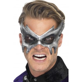 Mens Phantom Masquerade Mask Halloween Eyemasks - (Grey)