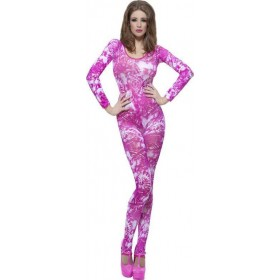 Ladies Tie Dye Pink Bodysuit Other