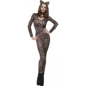 Ladies Cheetah Print Brown Bodysuit Other