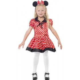Girls Cute Mouse Costume Animal Outfit