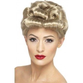 Ladies 40S Vintage Wig Wigs - (Blonde)
