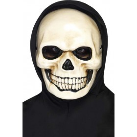 Adult Unisex Skull Mask Halloween Masks - (White)