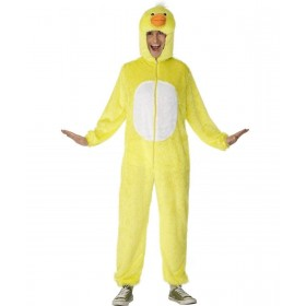 Adult Unisex Duck Costume Animal Outfit - Unisex Large (Yellow)
