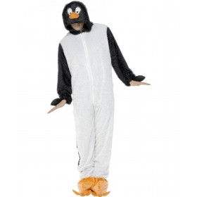 Adult Unisex Penguin Costume Animal Outfit - Unisex Large