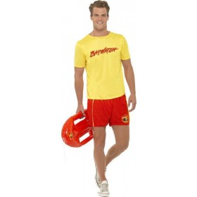 Mens Baywatch Men'S Beach Costume Tv Outfit
