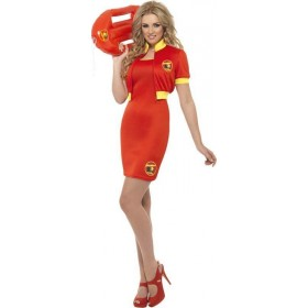 Ladies Baywatch Beach Lifeguard Costume Tv Outfit
