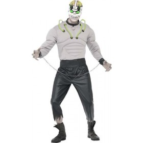 Mens Madhouse Creature Costume Halloween Outfit