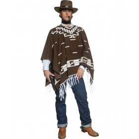 Mens Authentic Western Wandering Gunman Costume Cowboys/Native Americans