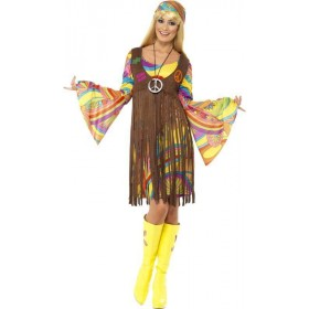 Ladies 1960S Groovy Lady Disco Outfit