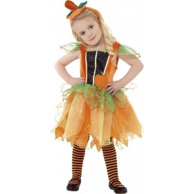 Pumpkin Fairy Fancy Dress Costume Age 1-2 Girls (Halloween)