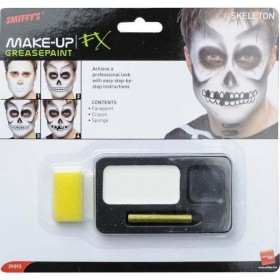 Skeleton Makeup Kit Fancy Dress (Halloween)