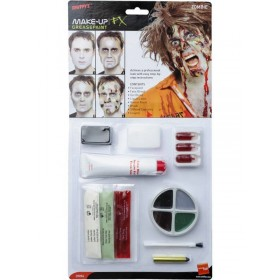 Zombie Latex Kit Fancy Dress (Halloween)