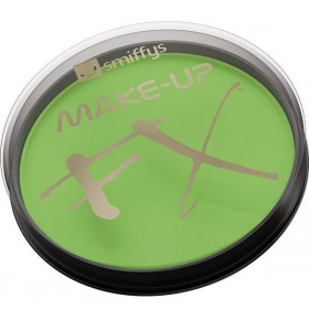 Smiffy'S Make-Up Fx, Aqua Face And Body Paint Lime Green(Film Fancy Dress Face Paint)