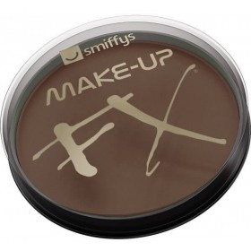 Smiffy'S Make-Up Fx,Dark Brown Aqua Face And Body Paint (Halloween Face Paint)