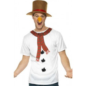 Mens Snowman Instant Kit Christmas Outfit